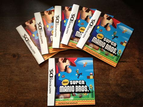 Nintendo Ds New Super Mario Bros Manual Only