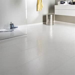 Resine Sol Blanc Brillant : carrelage sol et mur blanc effet uni piano x cm ~ Premium-room.com Idées de Décoration