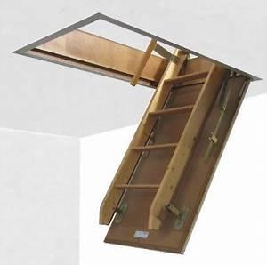 Escalier Escamotable Grenier : escalier escamotable pour grenier ~ Melissatoandfro.com Idées de Décoration