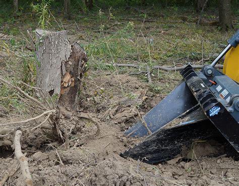 stump bucket national attachments