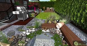 Terrasse En Cailloux Great Amnagement De Jardin Choisir