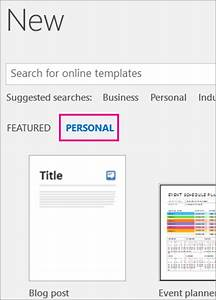 where are my custom templates office support With my publisher templates
