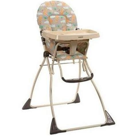 cosco flat fold high chair cosco flat fold high chair 03354awv 03354aad 03354aov