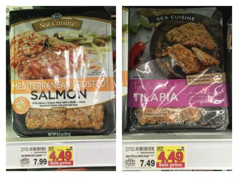 ea cuisine sea cuisine products only 3 49 at kroger reg 7 49 7 99