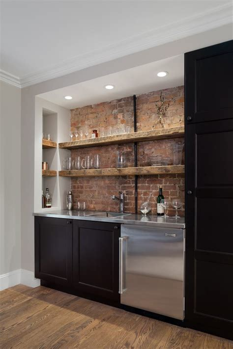 Awesome Brick Accent Wall Ideas Bedroom industrial with