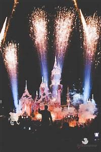 Photo Collection Disney Disneyland Wallpaper Fireworks