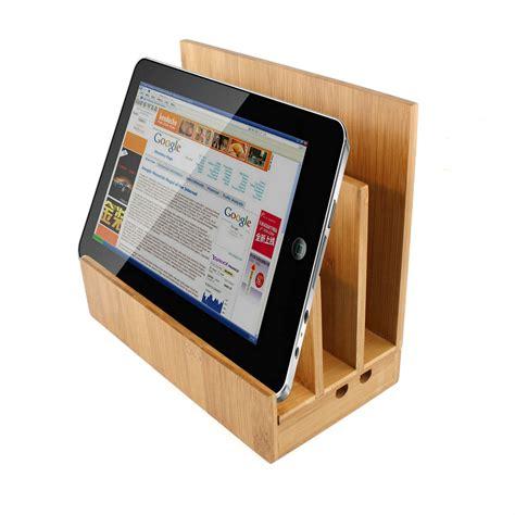 bamboo ipad charging station homex