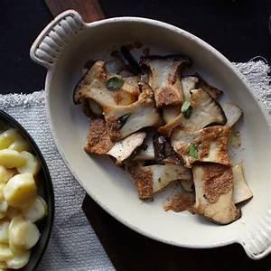 Roasted King Oyster Mushrooms Recipe | Food & Wine