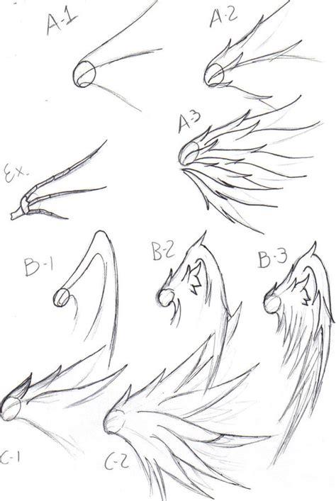 wing drawing tips  freddyfrijolero  deviantart