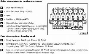 Load Reduction Relay Diagram 2000 Vw Beetle  Engine  Auto