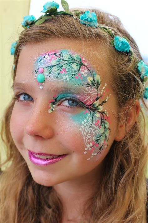 kinderschminken einfache vorlagen fr karneval kostme