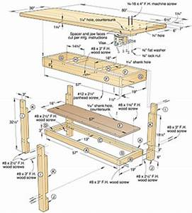 homemade woodworking workbench plans – Easy DIY Idea