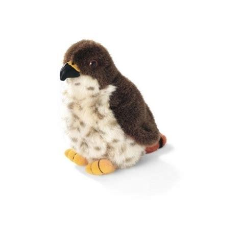 red tailed hawk audubon stuffed animal with bird song