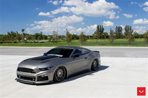 Vossen Wheels 2018 Roush Performance Ford Mustang Coupe