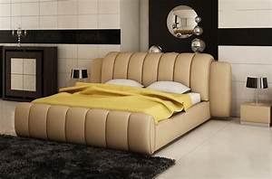 Lit En Cuir : lit en cuir design italien ~ Teatrodelosmanantiales.com Idées de Décoration
