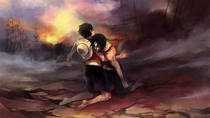 Piece Luffy Ace Anime Rescue Wallpapers 1080