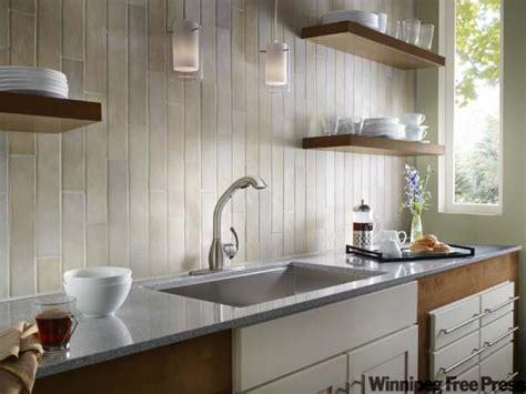 backsplash ideas no upper cabinets   The fusion kitchen