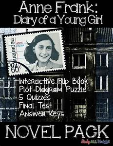 Anne frank diary of a young girl novel study literature ...