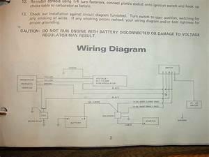 Anyone   Wiring Diagram For 1971 Panther 399 Kohler