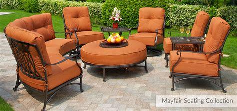used patio furniture ky mayfair hanamint outdoor furniture outdoor furniture in ky