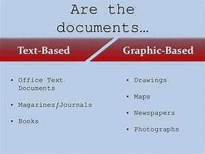 text document formats images With documents vs files