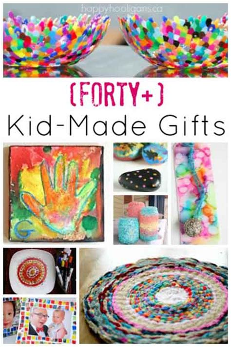 40 fabulous gifts kids can make lil moo creations