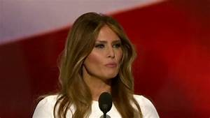 Trump campaign releases statement on Melania's speech ...