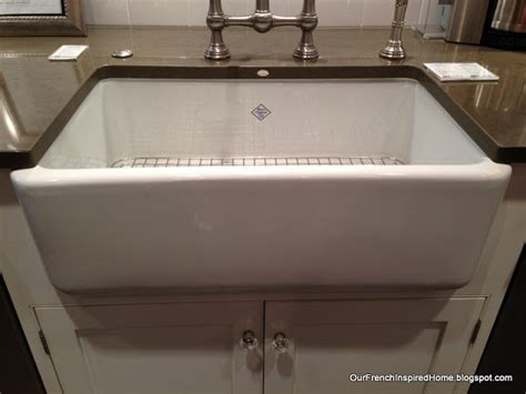 shaw farm sink grid our french inspired home designing our french inspired