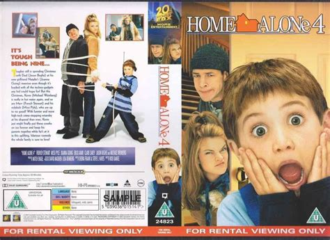 Home Alone 4, Joanna Going Vhs Video Promo Sample Sleeve