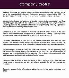 information technology company profile template images With information technology company profile template