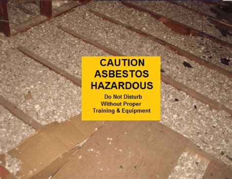 detect dangerous asbestos insulation asbestos