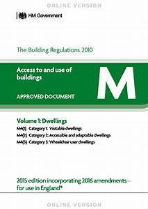 home build part m access to use of buildings With part m documents
