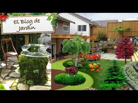 decoracion de jardines  patios pequenos ideas