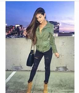 Jacket sophia miacova green jacket style fashion swag jeans shoes bag jewels - Wheretoget