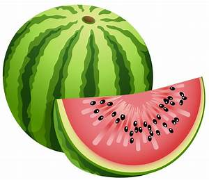 Watermelon clipart black and white free clipart 4 ...