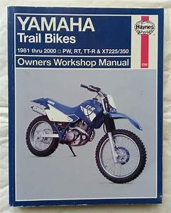 Haynes Manual For Ttr250 Plus Other Bikes