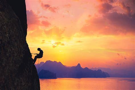 rock climbing mecca the south coast crimea russia