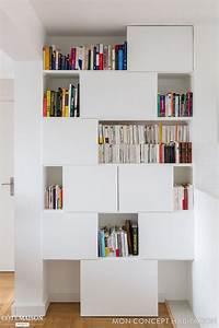 les 25 meilleures idees concernant placard mural sur With beautiful meuble etagere avec porte 9 cuisine salle de bain placard bibliothaque