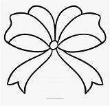 Coloring Bow Ribbon Line Pngitem sketch template