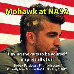 NASA Mohawk Guy to Ride With Mars Rover in Obama's ...