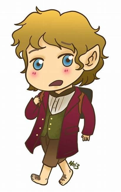 Hobbit Clipart Bilbo Baggins Clip Drawing Hobbits