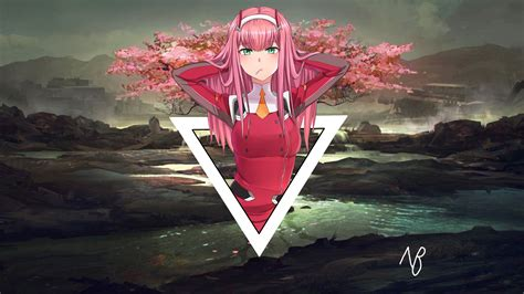 Zero Two Wallpaper by Anime Wallpapers