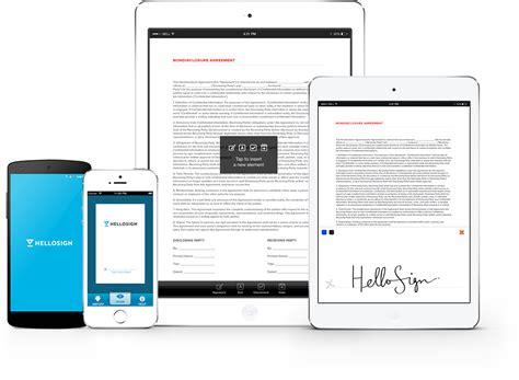 electronic signature app   iphone ipad