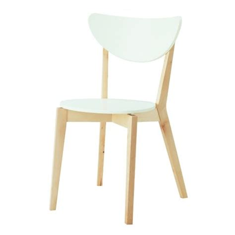 chaises blanches ikea chaise nordmyra ikea maison