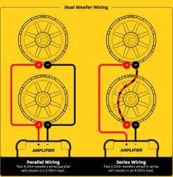 subwoofer speaker amp wiring diagrams kicker