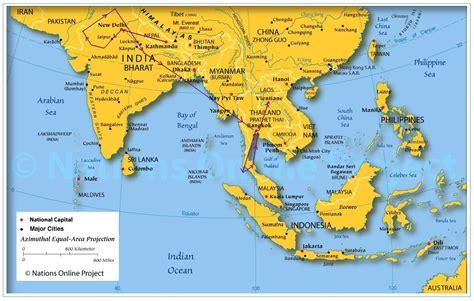 Thailande Dans La Carte Du Monde by Info Bangkok Sur La Carte Du Monde