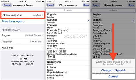 how to change in iphone how to change the language on iphone
