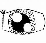Eye Coloring Pages Coloringcrew Printable Getcoloringpages Human sketch template