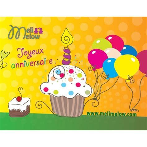 Carte Postale Gratuite by Carte Postale Anniversaire Meli Melow