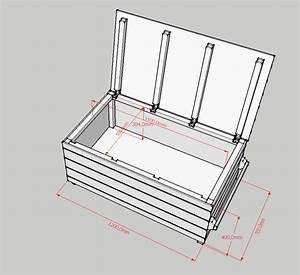 Coffre De Jardin Bois : fabriquer un banc coffre de jardin ~ Edinachiropracticcenter.com Idées de Décoration